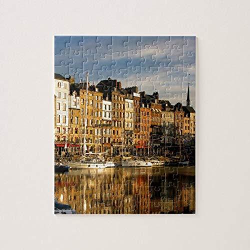 CICIDI Honfleur, France Jigsaw Puzzle 1000 Pieces for Adult Entertainment DIY Toys , Graet Gift Home Decor