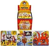 20 puzzles piratas, rompecabezas para fiestas de cumpleaños, regalo, bolsas de fiesta
