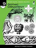By x Gothic Ornament (Dover Electronic Clip Art (No. 9)) Paperback - June 2011