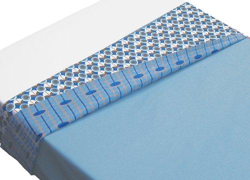 TAFTAN LB-232 Retro Überschlaglaken, 2 Masse, in 3 farben verfügbar