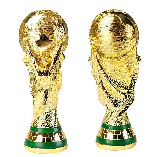 LASERIPLF Trofeo de fútbol, réplica del Trofeo de la Copa Mundial, Regalo del Hijo del Trofeo del Arte, decoración del hogar de Resina