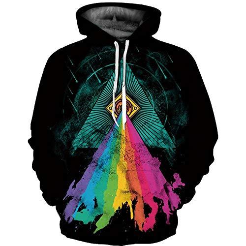CHWEI Knitted Hat Kapuzenpullover Für Lion Unisex Langarm 3D Pullover Hoodies Hoody Sweatshirt Trainingsanzüge Kapuzen Mit Outfits Atmungsaktiv Komfortabel
