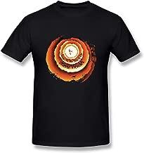 JohnHA Men's Stevie Wonder Songs in The Key of Life Cotton Tshirts Black