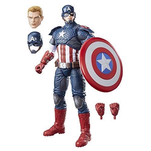Marvel Legends - Captain America (Action Figure Collezione, 38 cm), B7433EU4
