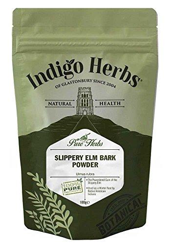 Indigo Herbs Ulmenrinde Pulver 100g - Slippery Elm