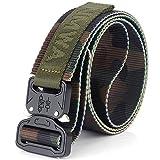BT.CE Men 'S Belt Cinturon De Nylon Exterior Cobra Tácticas Rápidas Formación Militar Camuflaje Cinturon Classic