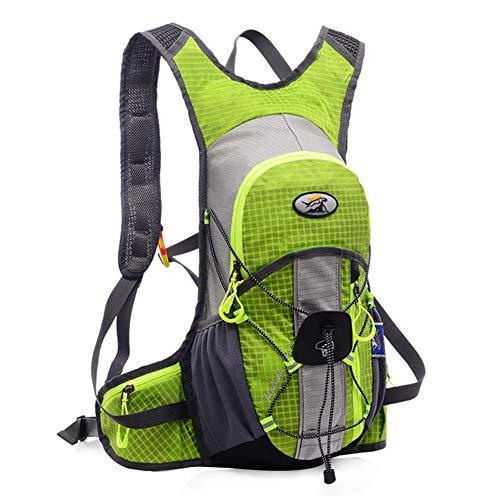 Fahrradrucksack 12L Fahrrad Rucksäcke mit Regenschutz und Helmabdeckung Wasserdicht Trinkrucksack Ultraleicht Hydration Rucksack für Herren/Damen Radsport, Camping, Wandern und Laufen (5)