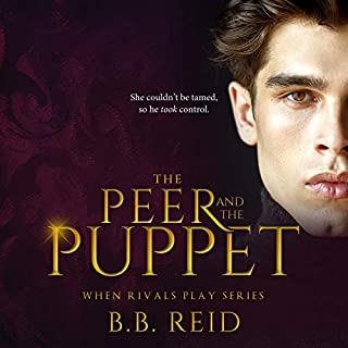 The Peer and the Puppet  audiobook cover art