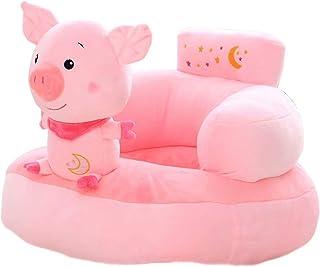 Kids Sofa Chair Toy Seat Baby Nest Sleeping Bed Cushion Stuffed Teddy Bear Doll 50 x 50 x 40cm (Pig)