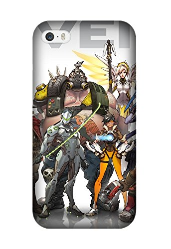 New Game Overwatch for iPhone 6 Plus/6S Plus Soft TPU Phone Case Cover Design by [Shella Smith]