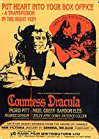 Countess Dracula 金属板ブリキ看板警告サイン注意サイン表示パネル情報サイン金属安全サイン