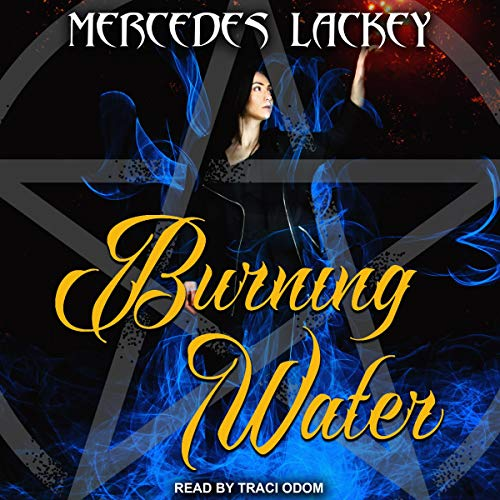 Burning Water audiobook cover art