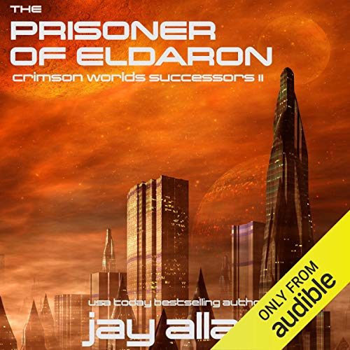The Prisoner of Eldaron audiobook cover art