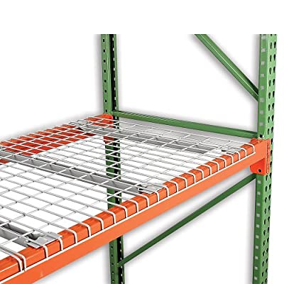 """Nashville Wire Painted Steel Wire Decking For Box Beams - 52X48"""" - Standard Capacity - Gray"""