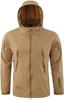 Windproof Warm Outdoor Coat Hooded Jacket Sports Uniform Velvet Overalls Men