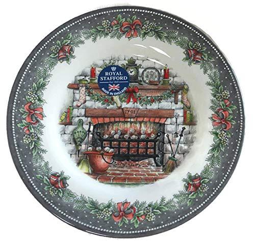 Royal Stafford Christmas Eve 8.5' Salad Plates - Set of 4