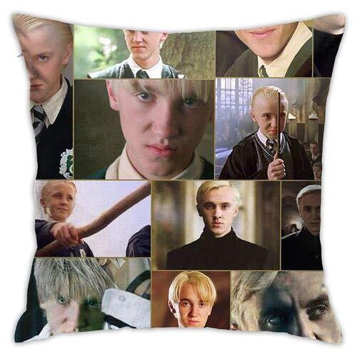Dr-aco-M-al-foy Throw Pillow Funny Pillowcase Draco-Malfoy Funny Gag Gifts Xmas Birthday Gift 445 * 45 (Colour4)