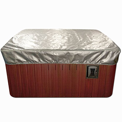 Spa Cover Cap Thermal Spa Cover Protector - 8 x 8 Feet x 12 Inches