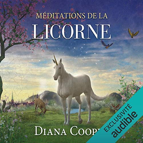 Méditations de la licorne audiobook cover art