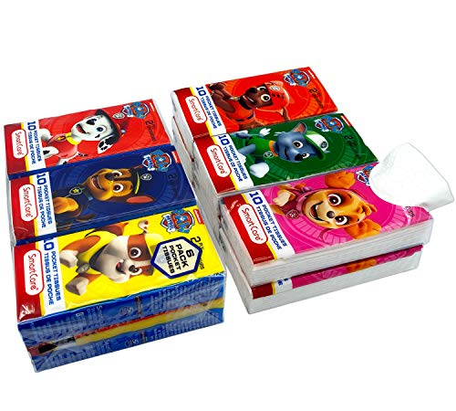 SmartCare Paw Patrol Facial Tissue - 2020 Pandemic Care Items Make Great Stocking Stuffers!