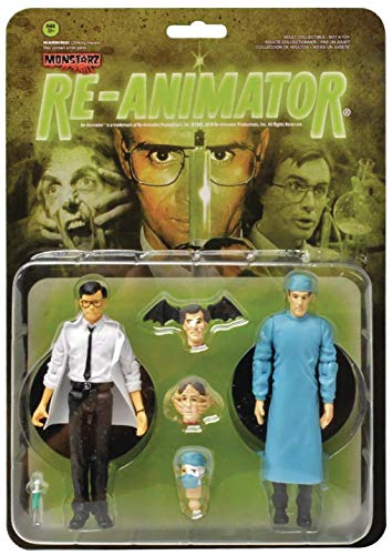Monstarz Re-Animator Dr. Herbert West and Dr. Carl Hill 3.75' Scale Retro Action Figure 2 Pack