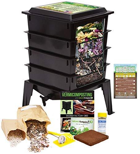 Worm Factory 360 Worm Composting Bin +...