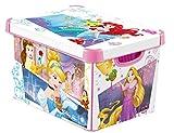 CURVER 232344Décor Princesa Déco Stockholm–Caja (plástico Rosa 40x 30x 24cm) L