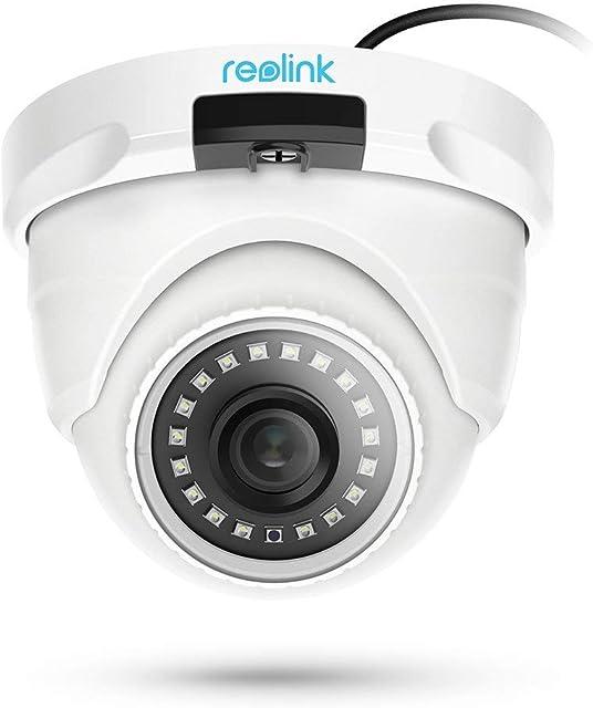 Reolink D400 Cámara IP PoE 4MP Super HD Soporte Audio Hogar Cámara de Vigilancia Domo Interior Exterior Solo Fuciona con Reolink NVR y Kits de Reolink NVR (No Trabaja Independiente)