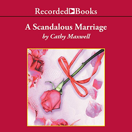 A Scandalous Marriage audiobook cover art