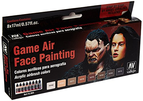 Vallejo Face Painting Set 17ml Paint