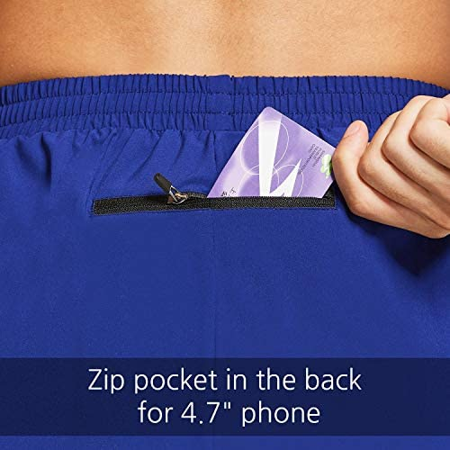 BALEAF Men's 5 Inches Running Athletic Shorts Zipper Pocket No Lining