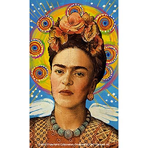 Kahlo Frida Wings Sticker - Mexican Painter Frida Kahlo Orignal Artwork Premium Decal Sticker - 3' x 5'