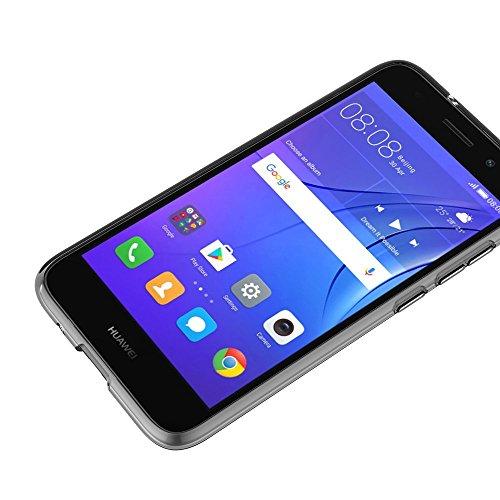 MaiJin Hülle für Huawei Y3 2017 (5 Zoll) Crystal Clear Durchsichtige Backcover Handyhülle TPU Case - 6