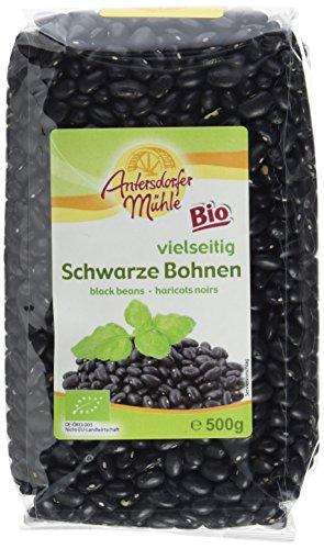 Antersdorfer Mühle Schwarze Bohnen, 6er Pack (6 x 500 g)