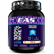 EAS 100% Whey Protein, Vanilla, 2 Pound
