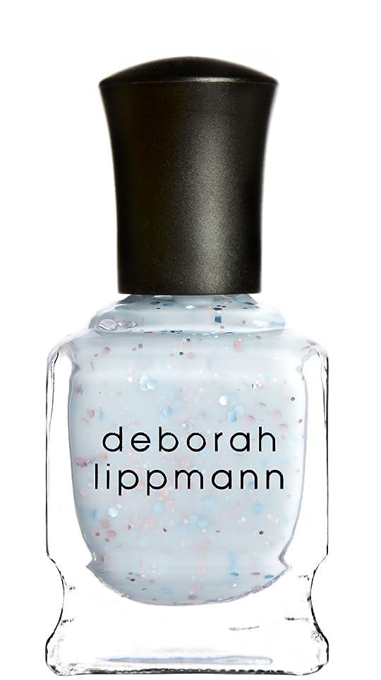 ファイターそれぞれかろうじて[Deborah Lippmann] デボラリップマン グリッター イン ジ エアー/GLITTER IN THE AIR 透明感のあるクリーミーな水色のベースに ピンクとブルーのラメが入るかわいいカラー ふんわりした印象の爪先に 容量15mL