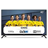CHiQ Televisor 40 Pulgadas Full HD (NO Smart TV), 3 x HDMI, 2 x USB, Sintonizador Triple (DVBT / T2...