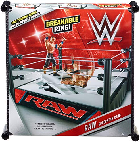 Mattel - Ring WWE superestrellas, Luchadores