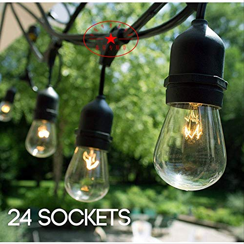 CFLFDC String Light Waterdichte lamp String Plant Re-Lighting String Outdoor LED lamphouder 9 Positief Wit