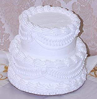 fake wedding cakes for display