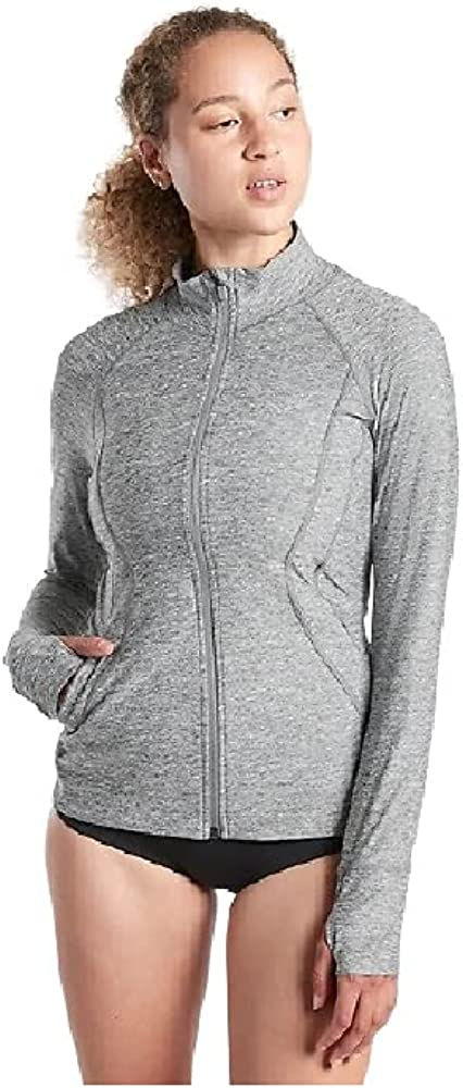 Athleta Warm-Weather Travel Max 46% OFF Max 85% OFF Pacifica Illume UPF H Full Grey Zip
