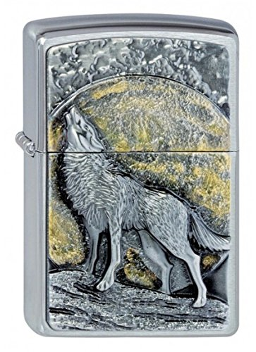 FumandoEspero Zippo Wolf Moonlight - Mechero