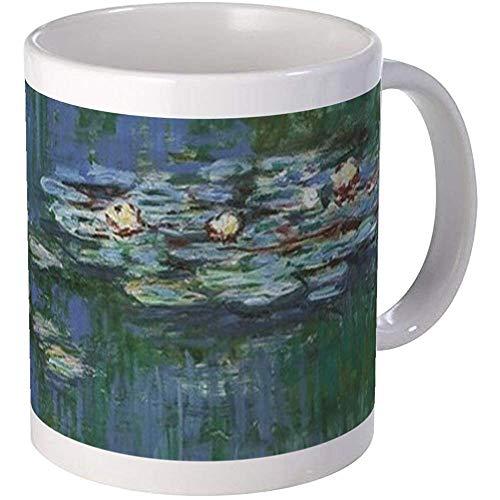 330ML CafePress Waterlilies By Claude Monet-Tassen Einzigartige Kaffeetasse, Kaffeetasse