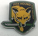 FOX-HOUND - Video-Game - METAL GEAR SOLID - Special Forces Group - Enamel Metal Pin