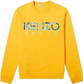 KENZO Luxury Fashion Mens F965SW0004MD41 Yellow Sweatshirt | Fall Winter 19