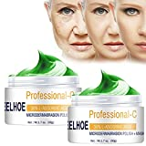 ergou Smooth & Lift Extra Firming Cream, Moisturizing Firm Neck Face Anti-Wrinkle Cream, Reduce Fine Lines and Wrinkles Anti Aging Lift Brighten Skin Repair Cream (2PCS-50g)