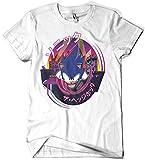 1660-Camiseta Premium, Sonic Mania (Gualda Trazos)