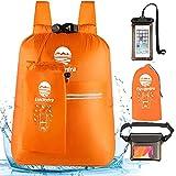 Etechydra Dry Bag Mochila impermeable de 20 litros, ultraligera,...