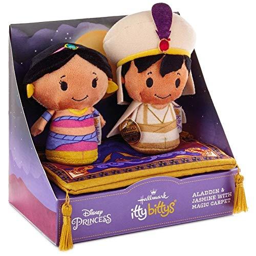 Hallmark ITTY BITTYS Aladdin & Jasmine with Magic Carpet Set