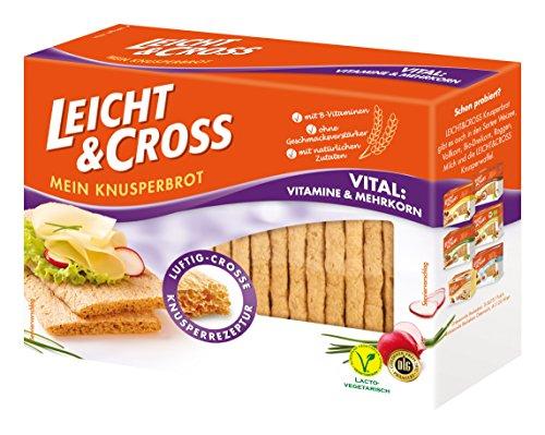 LEICHT&CROSS Knusperbrot Vital, 8er Pack (8 x 125 g)